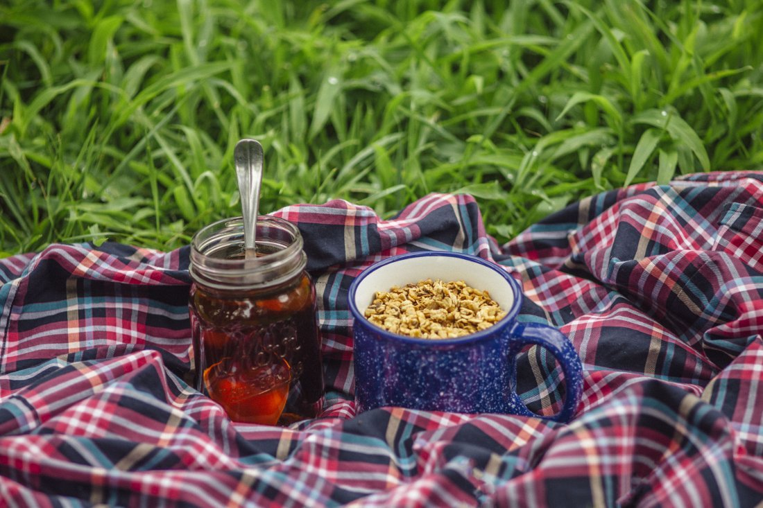 Maple Syrup Camping Hack