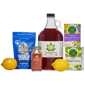 Ingredients included in the 10 day Master Cleanse kit by Maple Valley Cooperative