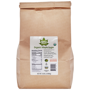 One pound of Organic Maple Sugar by Maple Valley