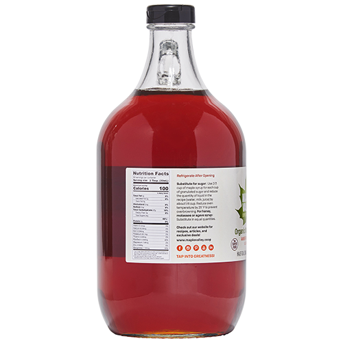 Gallon sized Organic Maple Syrup Amber Flavor product image
