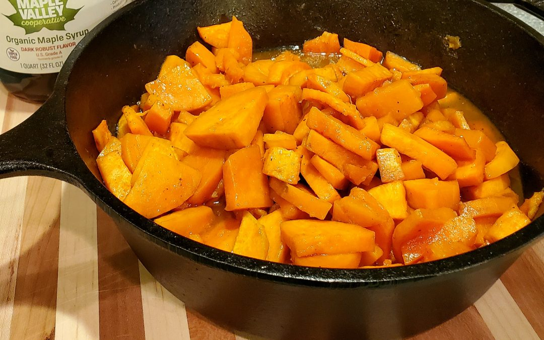 Recipe: Maple-Glazed Sweet Potatoes