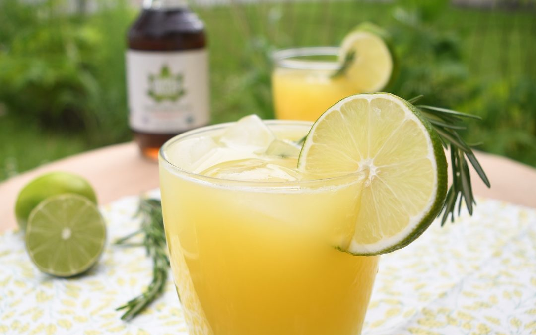 Relax and Rejuvenate with this Maple Orange Cocktail Spritzer