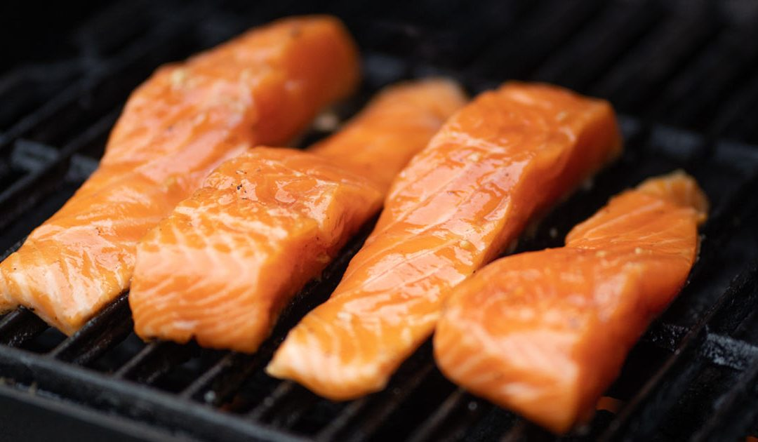 Quick & Easy Maple Glazed Grilled Salmon